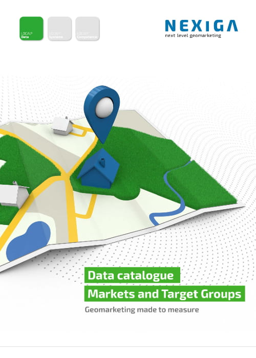data catalogue markets and target groups